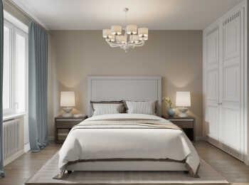 Спальня, вариант отделки «Лондон»